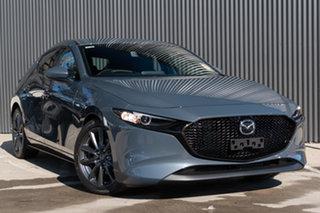 2020 Mazda 3 BP2HLA G25 SKYACTIV-Drive GT Polymetal Grey 6 Speed Sports Automatic Hatchback.