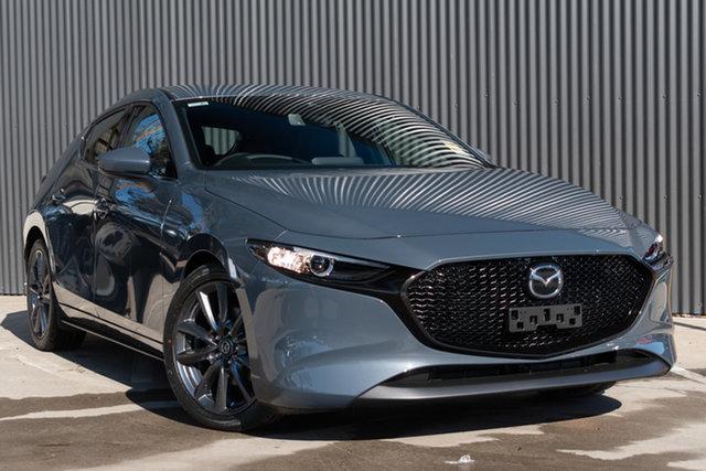 New Mazda 3 BP2HLA G25 SKYACTIV-Drive GT, 2020 Mazda 3 BP2HLA G25 SKYACTIV-Drive GT Polymetal Grey 6 Speed Sports Automatic Hatchback