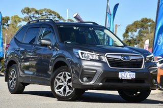 2020 Subaru Forester S5 MY20 2.5i-L CVT AWD Magnetite Grey 7 Speed Constant Variable Wagon.