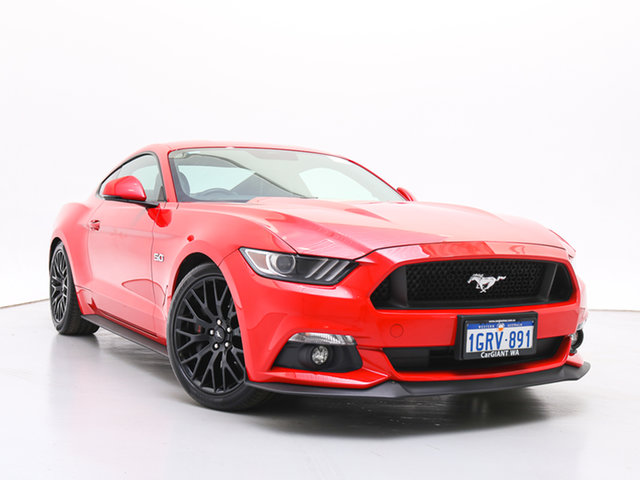 Used Ford Mustang FM Fastback GT 5.0 V8, 2016 Ford Mustang FM Fastback GT 5.0 V8 Red 6 Speed Manual Coupe