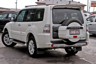 2013 Mitsubishi Pajero NW MY13 Exceed White 5 Speed Sports Automatic Wagon.