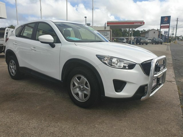 Used Mazda CX-5 Maxx Bowen, 2014 Mazda CX-5 Maxx White Automatic Wagon