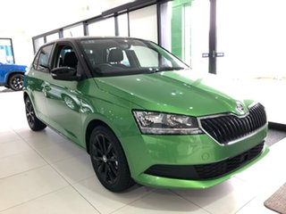 2020 Skoda Fabia NJ MY20.5 81TSI DSG Black 7 Speed Sports Automatic Dual Clutch Hatchback.