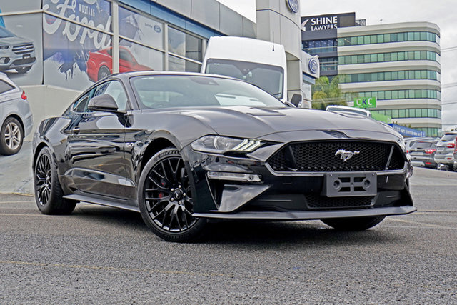 Used Ford Mustang FN 2019MY GT Fastback RWD, 2018 Ford Mustang FN 2019MY GT Fastback RWD Black 6 Speed Manual Fastback