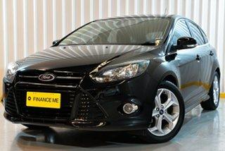 2014 Ford Focus LW MkII Sport Black 5 Speed Manual Hatchback.