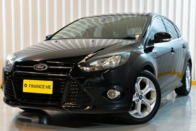 Used Ford Focus LW MkII Sport, 2014 Ford Focus LW MkII Sport Black 5 Speed Manual Hatchback