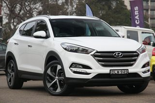 2016 Hyundai Tucson TL Upgrade Elite (FWD) White 6 Speed Automatic Wagon.