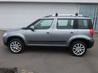 2013 Skoda Yeti 5L MY13 112TSI DSG Silver 6 Speed Sports Automatic Dual Clutch Wagon