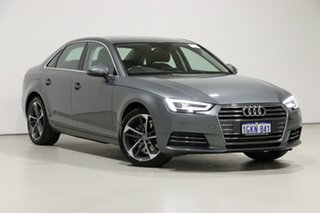 2016 Audi A4 F4 MY17 (B9) 2.0 TFSI S Tronic Sport Grey 7 Speed Auto Dual Clutch Sedan.