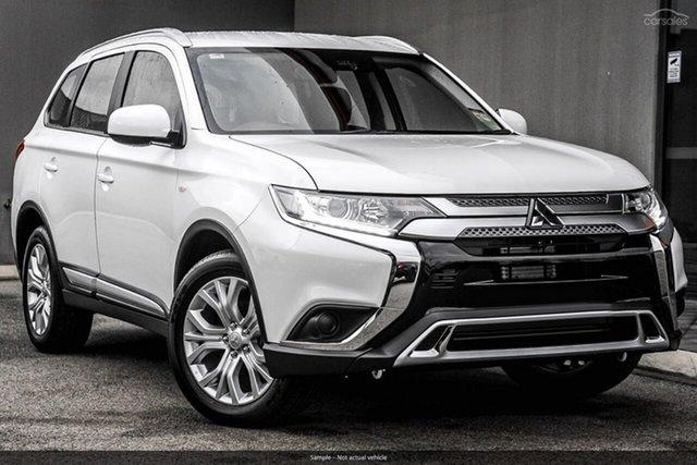 Demo Mitsubishi Outlander ZL MY20 ES AWD, 2020 Mitsubishi Outlander ZL MY20 ES AWD White 6 Speed Constant Variable Wagon