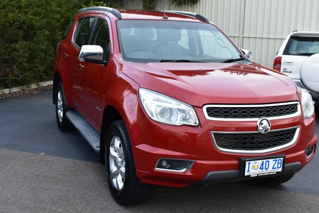 Used Holden Colorado 7 RG MY14 LTZ, 2013 Holden Colorado 7 RG MY14 LTZ Sizzle 6 Speed Sports Automatic Wagon