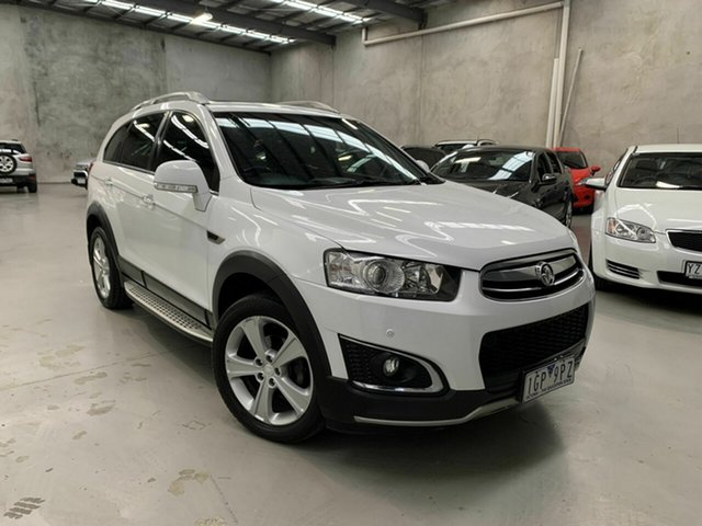 Used Holden Captiva CG MY15 7 AWD LTZ, 2015 Holden Captiva CG MY15 7 AWD LTZ White 6 Speed Sports Automatic Wagon