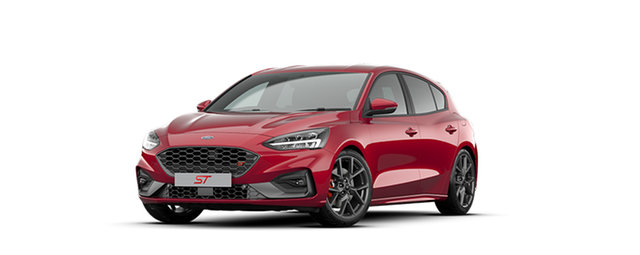 New Ford Focus SA 2020.25MY ST Parramatta, 2020 Ford Focus SA 2020.25MY ST Ruby Red 7 Speed Automatic Hatchback