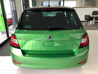 2020 Skoda Fabia NJ MY20.5 81TSI DSG Black 7 Speed Sports Automatic Dual Clutch Hatchback