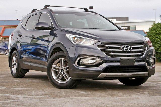 Used Hyundai Santa Fe DM3 MY17 Active, 2017 Hyundai Santa Fe DM3 MY17 Active Blue 6 Speed Sports Automatic Wagon