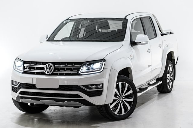 Used Volkswagen Amarok 2H MY19 TDI580 4MOTION Perm Ultimate, 2019 Volkswagen Amarok 2H MY19 TDI580 4MOTION Perm Ultimate White 8 Speed Automatic Utility