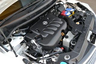 2009 Nissan Tiida C11 MY07 ST-L White 4 Speed Automatic Sedan