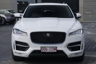 2019 Jaguar F-PACE X761 MY20 R-Sport Fuji White 8 Speed Sports Automatic Wagon