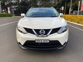 2017 Nissan Qashqai J11 TI White 1 Speed Constant Variable Wagon.