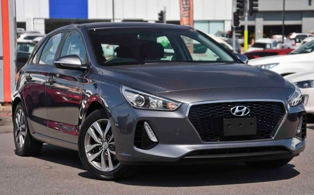 Used Hyundai i30 PD2 MY19 Active, 2019 Hyundai i30 PD2 MY19 Active Grey 6 Speed Sports Automatic Hatchback