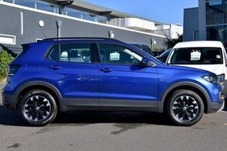 2020 Volkswagen T-Cross C1 MY20 85TSI DSG FWD Life Blue 7 Speed Sports Automatic Dual Clutch Wagon.