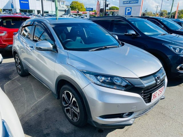 Used Honda HR-V MY15 VTi-L, 2015 Honda HR-V MY15 VTi-L Silver 1 Speed Constant Variable Hatchback