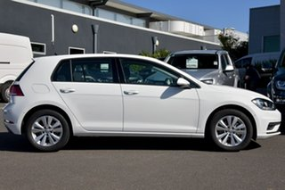 2020 Volkswagen Golf 7.5 MY20 110TSI DSG Trendline White 7 Speed Sports Automatic Dual Clutch.