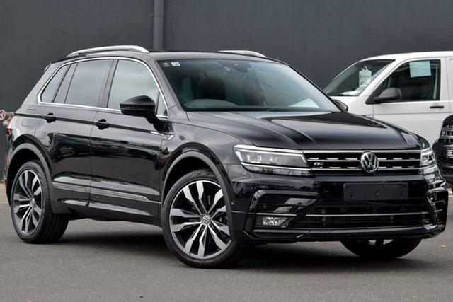 New Volkswagen Tiguan 5N MY20 162TSI DSG 4MOTION Highline, 2020 Volkswagen Tiguan 5N MY20 162TSI DSG 4MOTION Highline Black 7 Speed