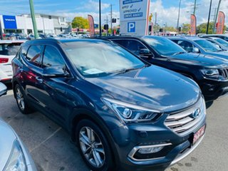 2014 Hyundai Santa Fe DM MY14 Highlander Blue 6 Speed Sports Automatic Wagon.
