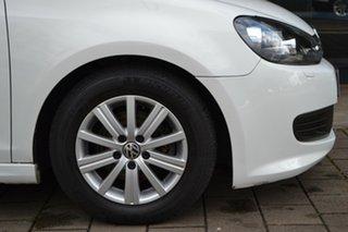 2012 Volkswagen Golf VI MY12.5 BlueMOTION White 5 Speed Manual Hatchback
