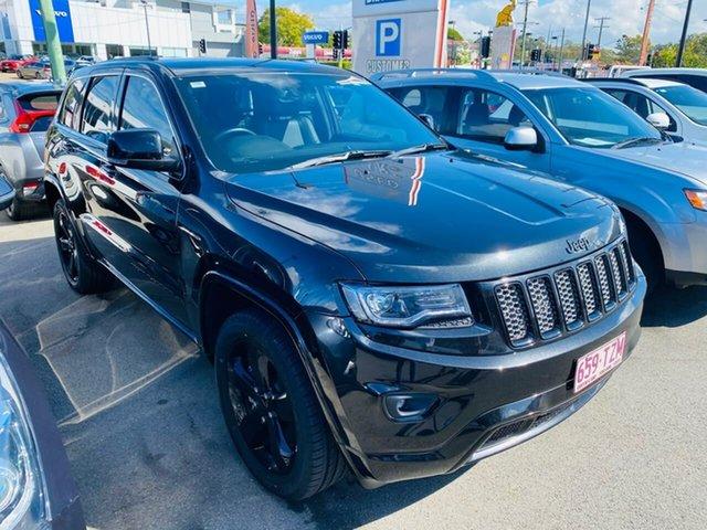 Used Jeep Grand Cherokee WK MY2014 Blackhawk, 2014 Jeep Grand Cherokee WK MY2014 Blackhawk Black 8 Speed Sports Automatic Wagon