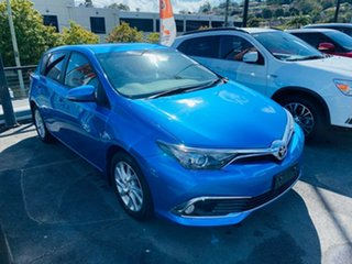 2017 Toyota Corolla ZRE182R Ascent Sport S-CVT Blue Gem 7 Speed Constant Variable Hatchback.