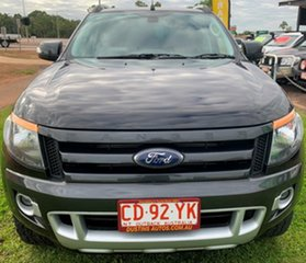 2014 Ford Ranger PX Wildtrak Double Cab Black 6 Speed Manual Utility