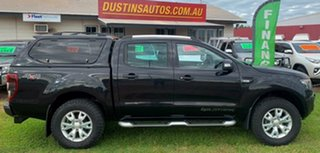 2014 Ford Ranger PX Wildtrak Double Cab Black 6 Speed Manual Utility.