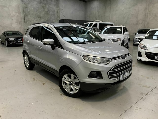 Used Ford Ecosport BK Trend PwrShift, 2014 Ford Ecosport BK Trend PwrShift Silver 6 Speed Sports Automatic Dual Clutch Wagon