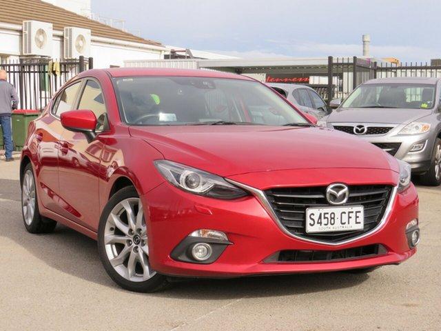 Used Mazda 3 BM5438 SP25 SKYACTIV-Drive GT, 2014 Mazda 3 BM5438 SP25 SKYACTIV-Drive GT Red 6 Speed Sports Automatic Hatchback