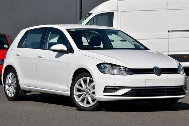 New Volkswagen Golf 7.5 MY20 110TSI DSG Comfortline, 2020 Volkswagen Golf 7.5 MY20 110TSI DSG Comfortline White 7 Speed Sports Automatic Dual Clutch