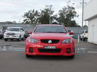 2010 Holden Commodore VE II SV6 Red 6 Speed Sports Automatic Sedan.