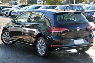 2020 Volkswagen Golf 7.5 MY20 110TSI DSG Comfortline Black 7 Speed Sports Automatic Dual Clutch.