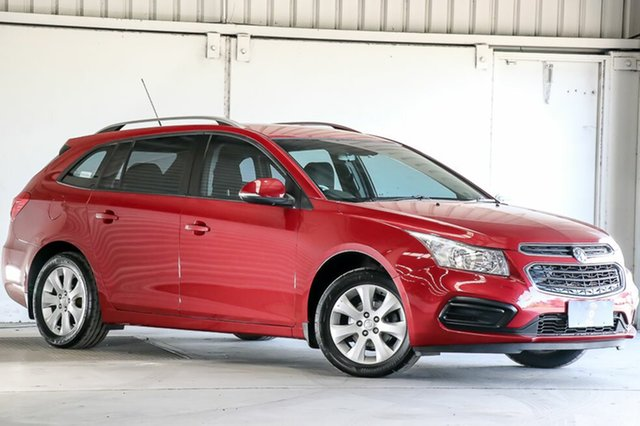Used Holden Cruze JH Series II MY16 CD Sportwagon, 2015 Holden Cruze JH Series II MY16 CD Sportwagon Red 6 Speed Sports Automatic Wagon