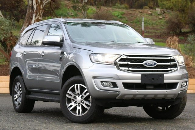 Used Ford Everest UA II 2019.00MY Trend 4WD, 2019 Ford Everest UA II 2019.00MY Trend 4WD Silver 10 Speed Sports Automatic Wagon
