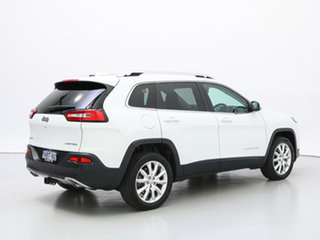 2014 Jeep Cherokee KL Limited (4x4) White 9 Speed Automatic Wagon