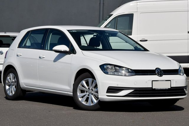 New Volkswagen Golf 7.5 MY20 110TSI DSG Trendline, 2020 Volkswagen Golf 7.5 MY20 110TSI DSG Trendline White 7 Speed Sports Automatic Dual Clutch
