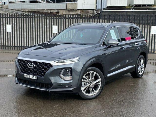 Used Hyundai Santa Fe TM MY19 Highlander, 2019 Hyundai Santa Fe TM MY19 Highlander Grey 8 Speed Sports Automatic Wagon