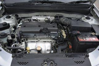 2010 Kia Rio JB MY10 S Silver 4 Speed Automatic Hatchback
