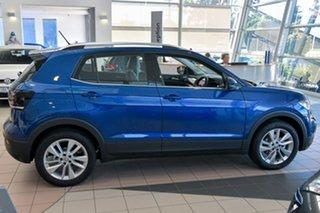2020 Volkswagen T-Cross C1 MY20 85TSI DSG FWD Style Blue 7 Speed Sports Automatic Dual Clutch Wagon