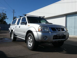 2009 Nissan Navara D22 MY2009 ST-R Silver 5 Speed Manual Utility.