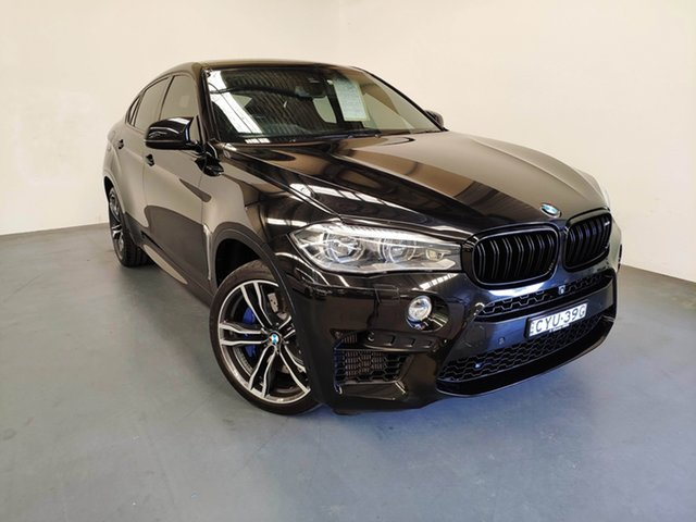 Used BMW X6 M F86 Coupe Steptronic, 2015 BMW X6 M F86 Coupe Steptronic Black Sapphire 8 Speed Sports Automatic Wagon