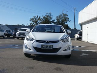 2014 Hyundai Elantra MD3 Active White 6 Speed Sports Automatic Sedan.