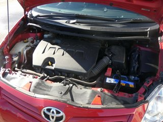 2010 Toyota Corolla ZRE152R MY10 Ascent Red 6 Speed Manual Hatchback